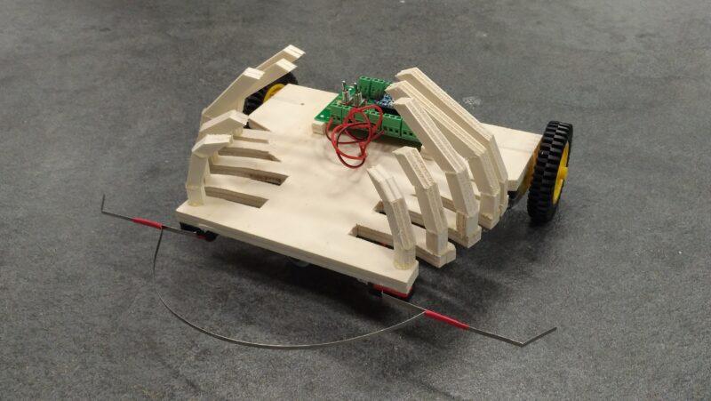 Arduino Roboter aus Workshop mit PGLU