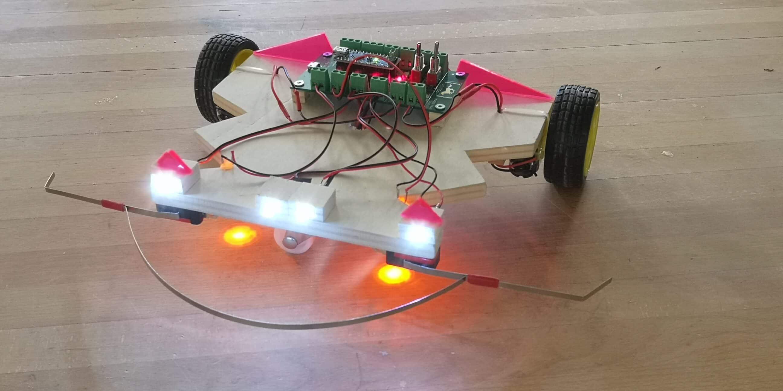 Roboter Fahrzeug für das Technische Gestalten