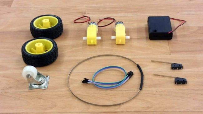 Selbstgesteuertes Fahrzeug Bausatz
