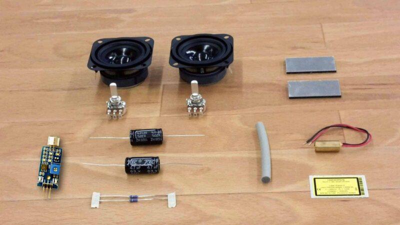 Produktbild: Bausatz Arduino Lasershow zum selber bauen.