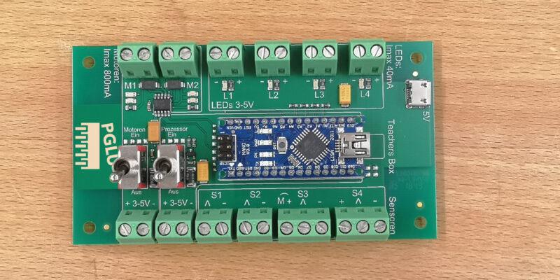 Produktbild Arduino Mikrocontroller erweitert, ideal für deine Roboter Projekte in der Schule