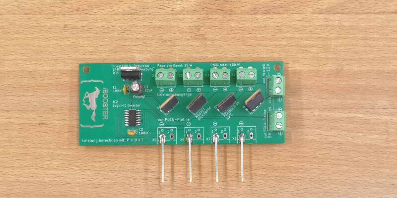 Produktbild Booster zum Erweitern deiner Arduino für Stromintensive Projekte in der Schule