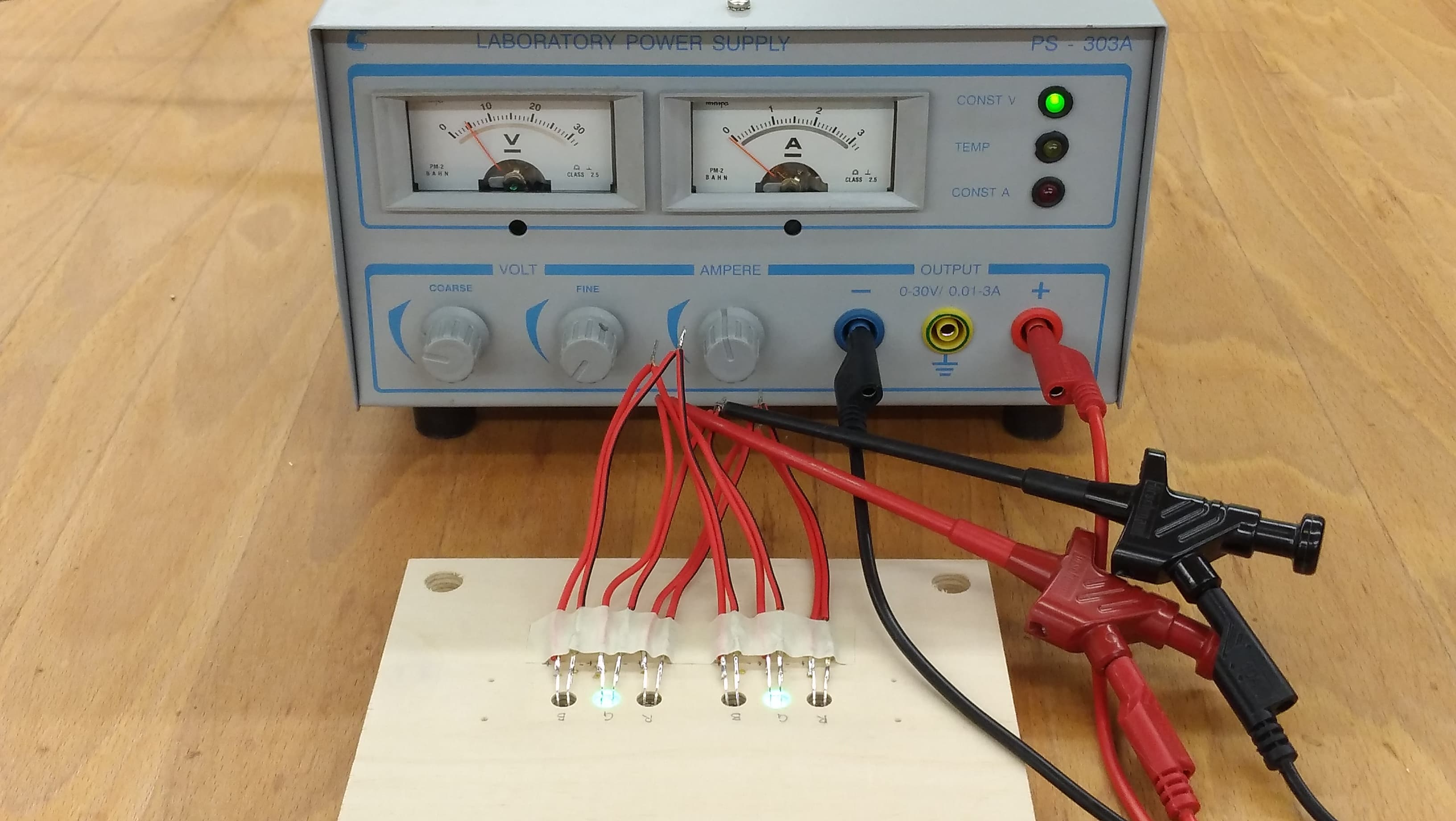 LEDs mit 5V testen