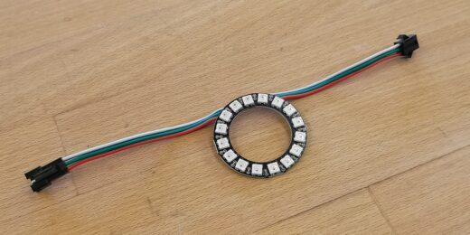 Neopixel Ring mit 16 Pixeln