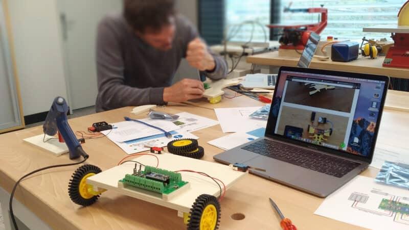 Lehrerweiterbildung Mikrocontroller Arduino