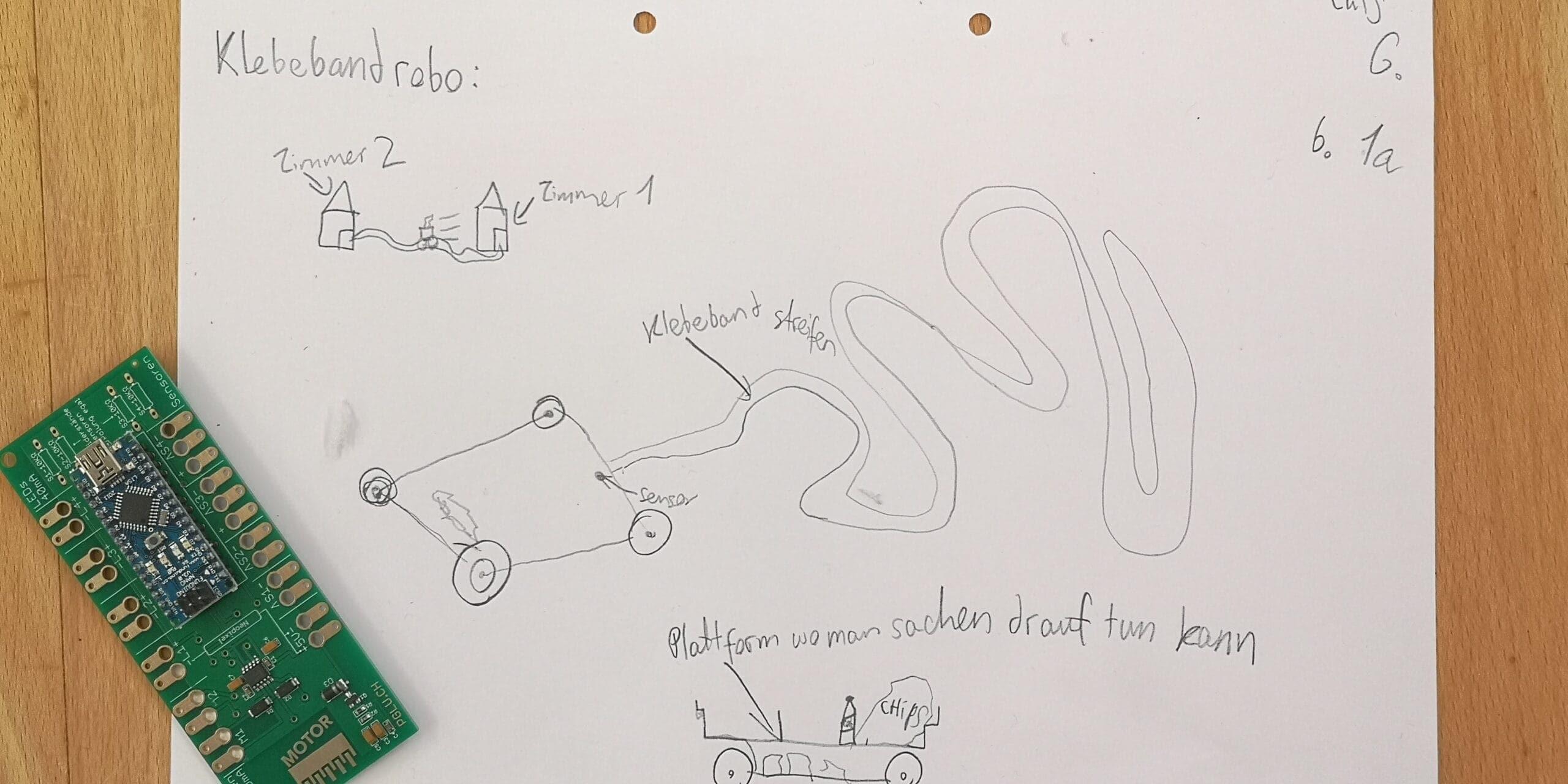 Arduino Roboter Skizzen & Ideen (6)