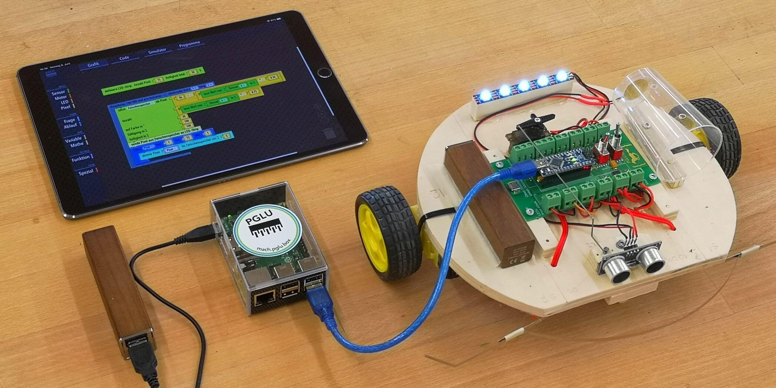 PGLU Prozessorgesteuerte Lernumgebung mit Arduino Roboter