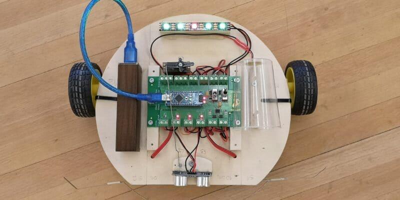 Arduino Robotik Starter Kit mit Sensoren und Neopixel LEDs