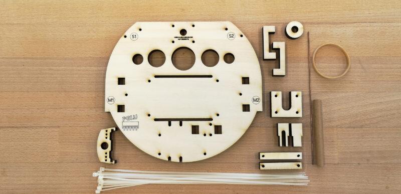 Chassis Komfort Pack für Arduino Roboter