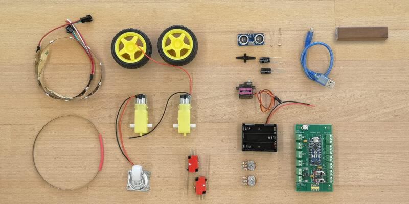 Roboter Starter Kit Bausatz Version selber sägen oder 3D-Druck