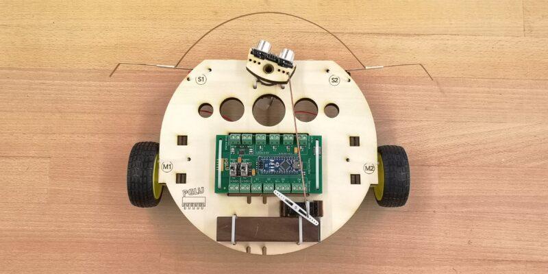 Roboter Starter Kit mit Chassis Komfort Pack von oben